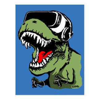 Carte Postale VR T-rex