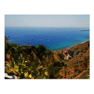 Carte Postale Vue 1 de Taormina