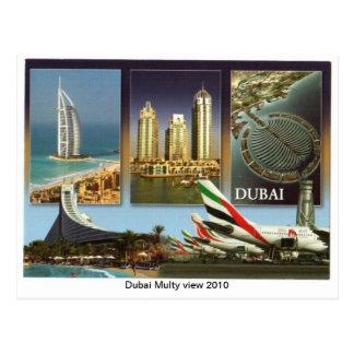 Carte Postale Vue 2010 de Dubaï Multy