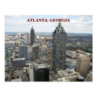 Carte Postale Vue aérienne d'Atlanta, la Géorgie