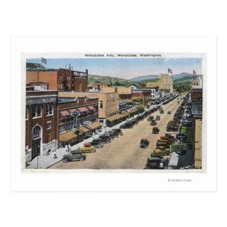 Carte Postale Vue aérienne d'avenue de Wenatchee