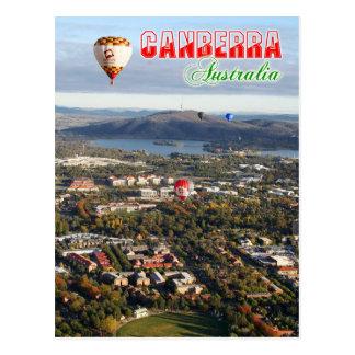 Carte Postale Vue aérienne de capitale de Canberra - de