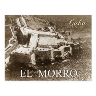 Carte Postale Vue aérienne de château de Morro, La Havane, Cuba