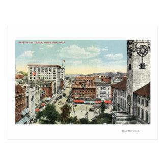 Carte Postale Vue aérienne de coin de Harrington