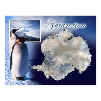 Carte Postale Vue aérienne de l'Antarctique