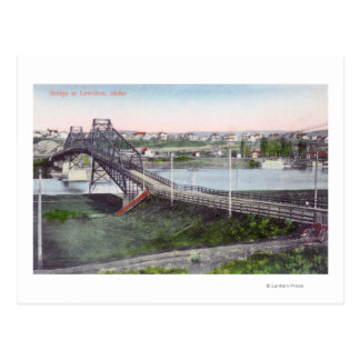 Carte Postale Vue aérienne de Lewiston BridgeLewiston,