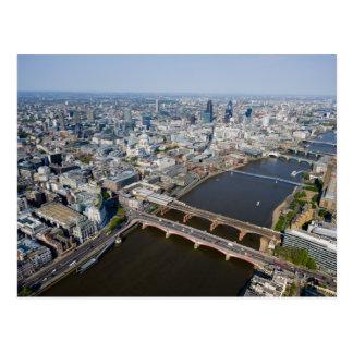 Carte Postale Vue aérienne de Londres
