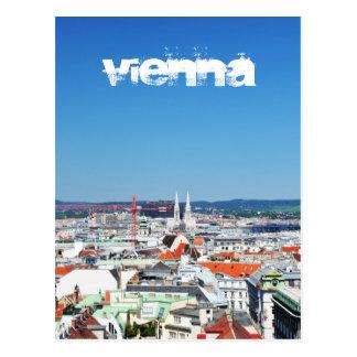 Carte Postale Vue aérienne de Vienne, Autriche