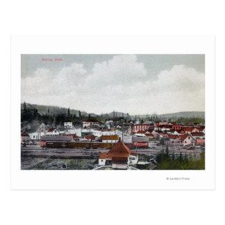 Carte Postale Vue aérienne de ville