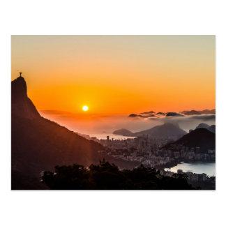 Carte Postale Vue Chinesa, Rio de Janeiro, Brésil