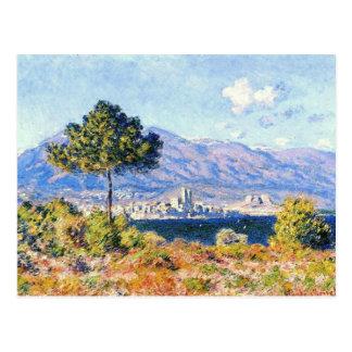 Carte Postale Vue d'Antibes du plateau Notre-Dame