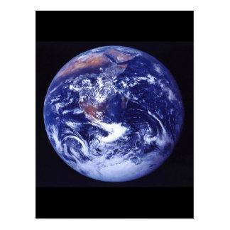 Carte Postale Vue d'Apollo 17 de la terre dans l'espace