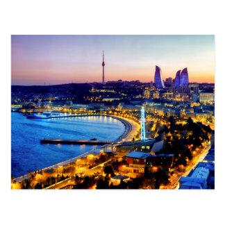 Carte Postale Vue de Bakou