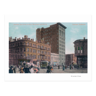 Carte Postale Vue de Broadway, 14ème St, avenue Junctio de San