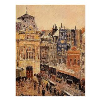 Carte Postale Vue de Camille Pissarro- de Paris, d'Amsterdam de