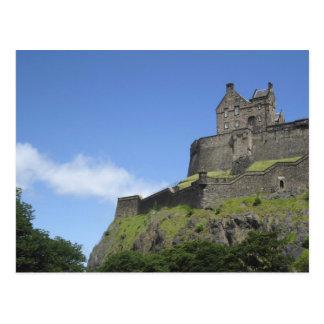 Carte Postale Vue de château d'Edimbourg, Edimbourg, Ecosse, 2