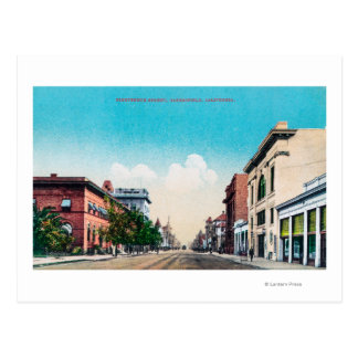 Carte Postale Vue de dix-neuvième StreetBakersfield, CA