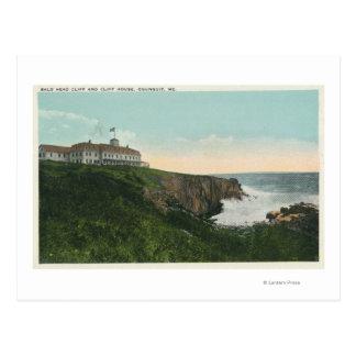 Carte Postale Vue de falaise de tête chauve et extérieur de