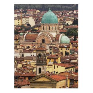 Carte Postale Vue de Florence, Italie de Piazza