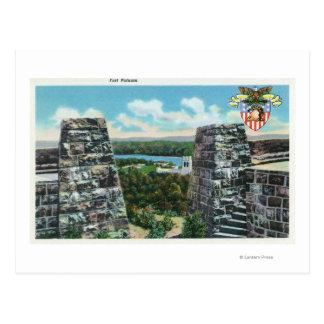 Carte Postale Vue de fort Putnam