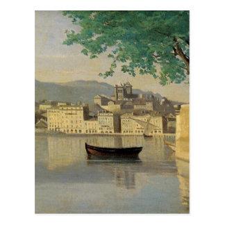 Carte Postale Vue de Genève d'une partie de la ville par Camille
