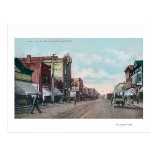 Carte Postale Vue de houx StreetBellingham, WA