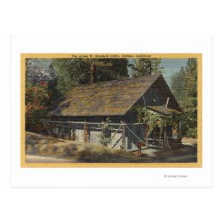 Carte Postale Vue de James W. Marshall Cabin