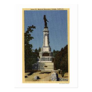 Carte Postale Vue de James W. Marshall Monument # 2