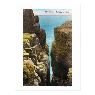 Carte Postale Vue de la canalisation
