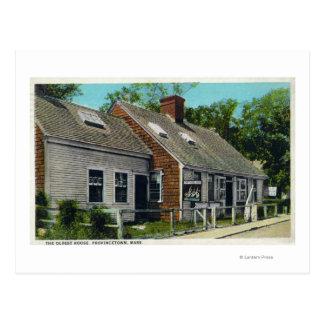 Carte Postale Vue de la Chambre la plus ancienne en ville