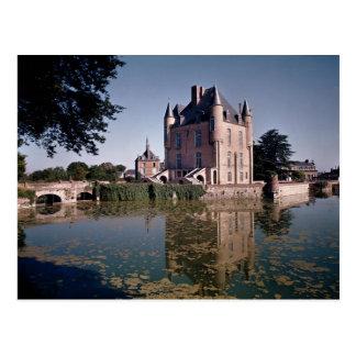 Carte Postale Vue de la conservation du château, établie 1355-88