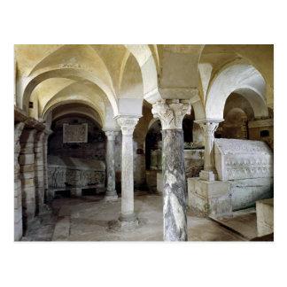 Carte Postale Vue de la crypte de St Paul, ANNONCE c.634