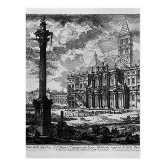 Carte Postale Vue de la façade de la basilique du Lat de St John
