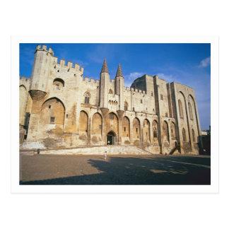Carte Postale Vue de la façade d'entrée du palais (photo)