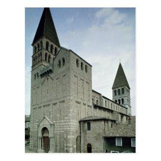 Carte Postale Vue de la façade occidentale, 10ème-11ème siècle