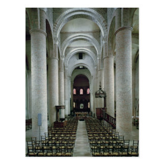 Carte Postale Vue de la nef, regardant vers l'autel