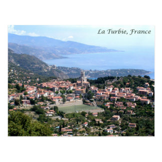 Carte Postale Vue de La Turbie, France