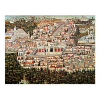 Carte Postale Vue de la ville de Damas