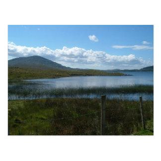 Carte Postale Vue de lac Inga