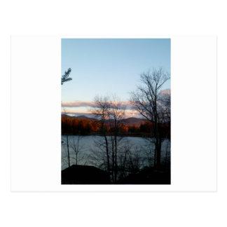 Carte Postale Vue de Lake Placid