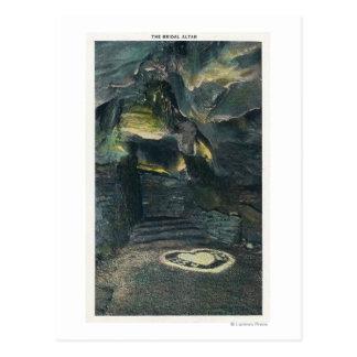 Carte Postale Vue de l'autel nuptiale