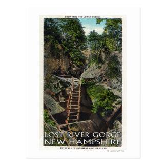 Carte Postale Vue de l'entrée au jugement Hall de Platon