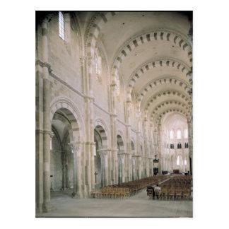 Carte Postale Vue de l'intérieur de la nef, 12ème siècle