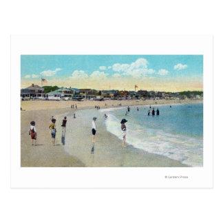 Carte Postale Vue de Long Beach et de cap Ann