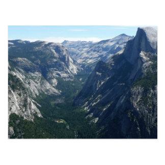 Carte Postale Vue de point de glacier en parc national de