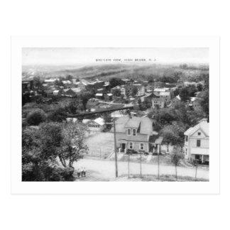 Carte Postale Vue de primevère farineuse, haut pont, cru de New
