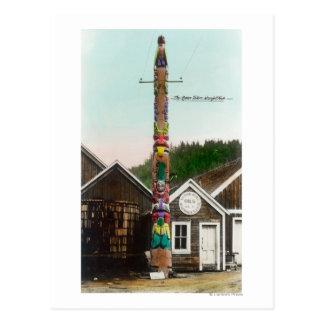 Carte Postale Vue de Raven TotempoleWrangell, AK