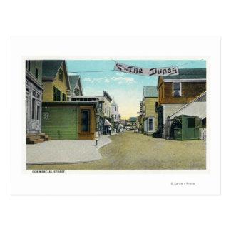 Carte Postale Vue de rue commerciale
