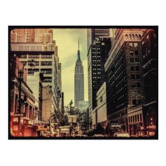 Carte Postale Vue de rue d'empire