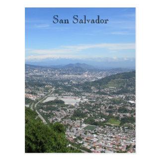 Carte Postale vue de San Salvador